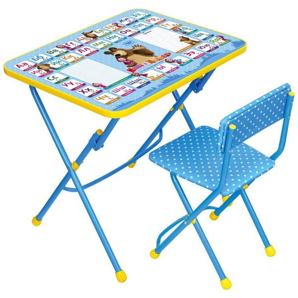 Набор детской мебели ″Маша и Медведь.Азбука-2″ складной, мягкий стул КУ1/2 купить оптом и в розницу
