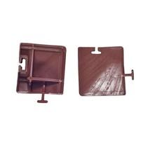 Уголок к модульной пластиковой плитке (в упак.4 шт) купить оптом и в розницу