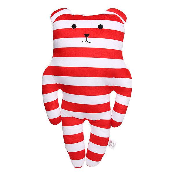 Подушка декоративная 53*35см ″Полосатый медведик″ купить оптом и в розницу