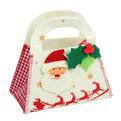 Сумочка подарочная 17*16*9,5 см ″Дед Мороз″, войлок купить оптом и в розницу