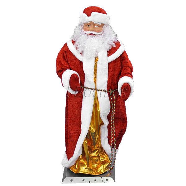 Дед Мороз музыкальный 120см купить оптом и в розницу