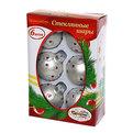 Новогодние шары ″Жемчужина Востока″ 6см (набор 6шт.) купить оптом и в розницу