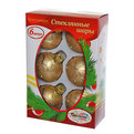 Новогодние шары ″Золотой Узор″ 6см (набор 6шт.) купить оптом и в розницу