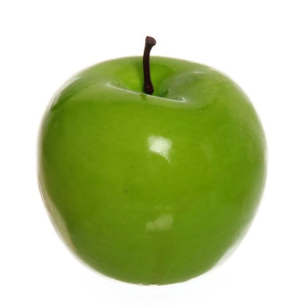Муляж ″Яблоко зеленое″ 6,5см купить оптом и в розницу