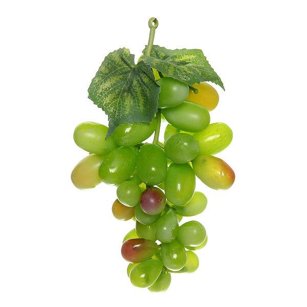 Муляж ″Виноград светло-зеленый ″ 14см 45ягод купить оптом и в розницу