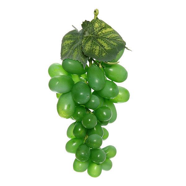 Муляж ″Виноград зеленый ″ 14см 45ягод купить оптом и в розницу