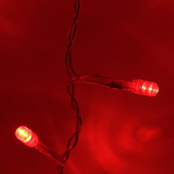 Занавес светодиодный уличный ш 3 * в 2,4м, 925 ламп LED, Красный, 25 нитей купить оптом и в розницу
