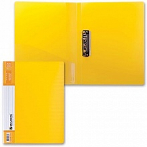"""Папка с зажимом HATBER """"HD"""" Неоново-желтая, 17мм купить оптом и в розницу"""