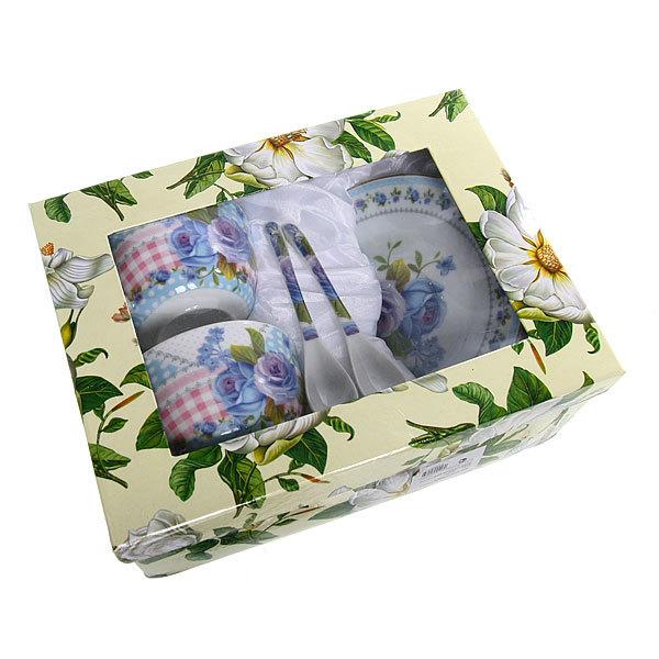 Чайный набор 4 предмета ″Цветочный букет″ купить оптом и в розницу