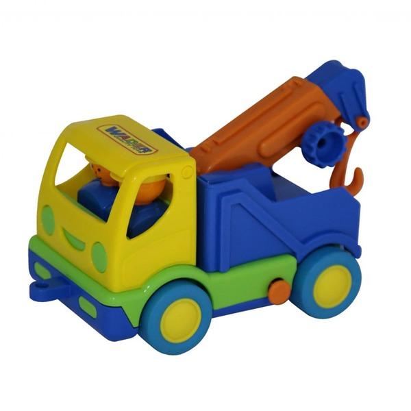 Автомобиль Мой первый грузовик эвакуатор в сетке 5458 П-Е /12/ купить оптом и в розницу