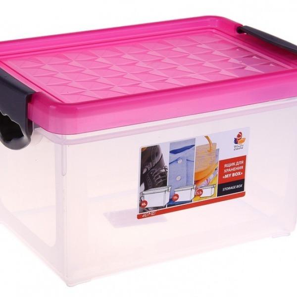 """Ящик для хранения """"Mybox"""" 5,1 л*8 купить оптом и в розницу"""