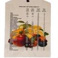 Доска разделочная сувенирная 18*30*0,8см ″Фрукты″ купить оптом и в розницу