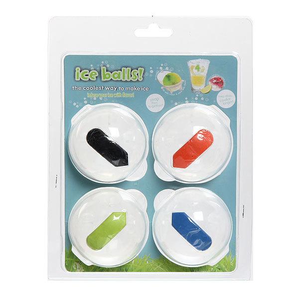 Форма для льда шарики 4шт большие купить оптом и в розницу