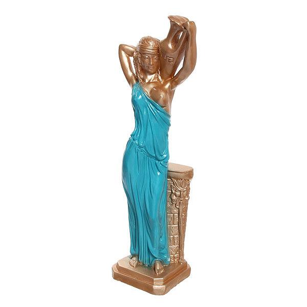 Статуэтка Девушка с кувшином (цветное платье)) 50см. купить оптом и в розницу