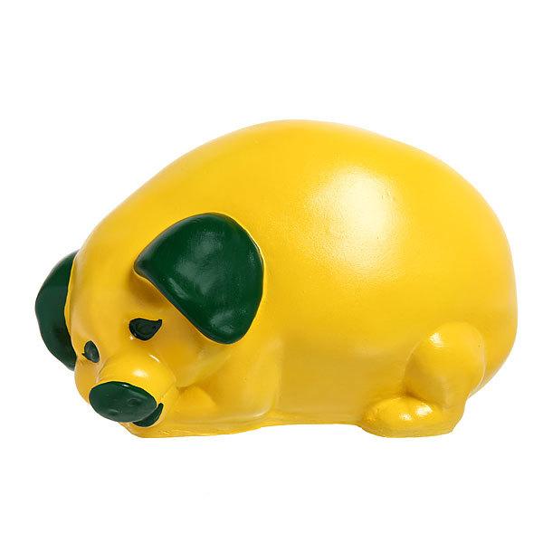 Копилка Свинка 20*34см лимон купить оптом и в розницу