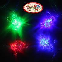 Гирлянда светодиодная 5,5м, 32 ламп LED, Ангел, RG/RB(красный,зеленый/красный,синий), ав.реж., пр. пров. купить оптом и в розницу