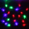 Гирлянда светодиодная 5,5м, 20 ламп LED, Дед Мороз, RG/RB(красный,зеленый/красный,синий), ав.реж., пр. пров. купить оптом и в розницу