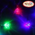 Гирлянда светодиодная 5,5м, 20 ламп LED, Колокольчик, RG/RB(красный,зеленый/красный,синий), ав.реж., пр. пров. купить оптом и в розницу