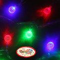 Гирлянда светодиодная 5,5м, 32 ламп LED, Шарики, RG/RB(красный,зеленый/красный,синий), ав.реж., пр. пров. купить оптом и в розницу