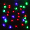 Гирлянда светодиодная 5м,32 лампы LED, Елка, RG/RB(красный,зеленый/красный,синий), авторежимы, прозр.пров. купить оптом и в розницу