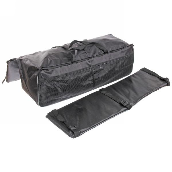 Накладки на сиденье 2шт + сумка 70 см, цвет черный купить оптом и в розницу