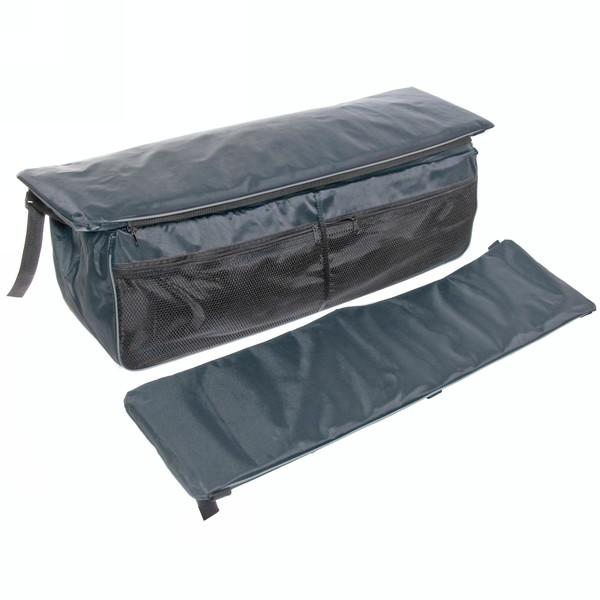Накладки на сиденье 2шт + сумка 85 см, цвет серый купить оптом и в розницу