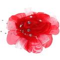 Бант для волос ″Тифани″ PalSv роза со стразами №20 купить оптом и в розницу