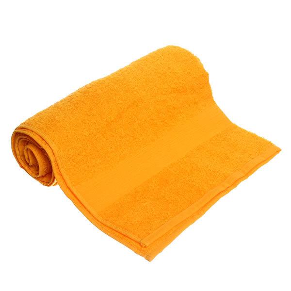 Махровое полотенце 70*140см желтое ЭК140 Д01 купить оптом и в розницу