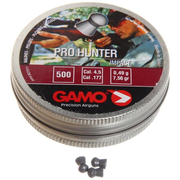 Пуля пневматическая Gamo Pro-Hunter, 4,5 мм, 0,49 гр (500 шт) купить оптом и в розницу