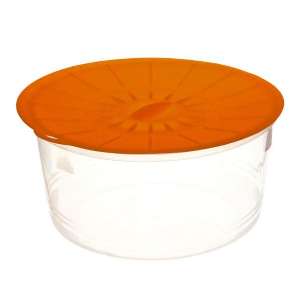 Контейнер пластиковый пищевой 0,8л, многофункциональный с силиконовой крышкой С256С купить оптом и в розницу