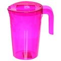 Набор питьевой 5 предметов ″Люмици″: кувшин 1,8л; 4 стакана 0,3л розовый прозрачный купить оптом и в розницу