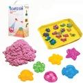 Набор ДТ Космический песок Розовый 3 кг. песочница и формочки кор. купить оптом и в розницу