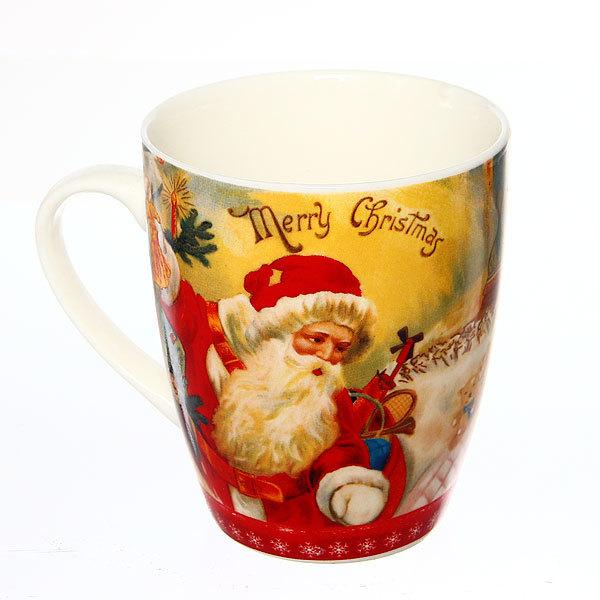 Кружка керамическая 300мл ″Рождество″ купить оптом и в розницу