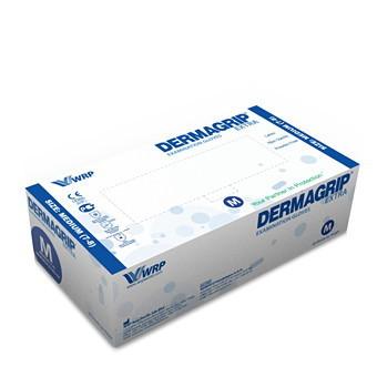 Перчатки DERMAGRIP EXTRA латексные нестерильные неопудреные 25 пар M купить оптом и в розницу
