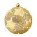 Новогодние шары ″Зведы на золоте″ 8см (набор 3шт.) купить оптом и в розницу