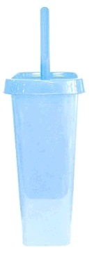 """Комплект WC закрытый """"Квадра"""" голубой пастельный *8 купить оптом и в розницу"""