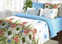 Дуэт-М поплин 158 Полевые цветы Василиса купить оптом и в розницу