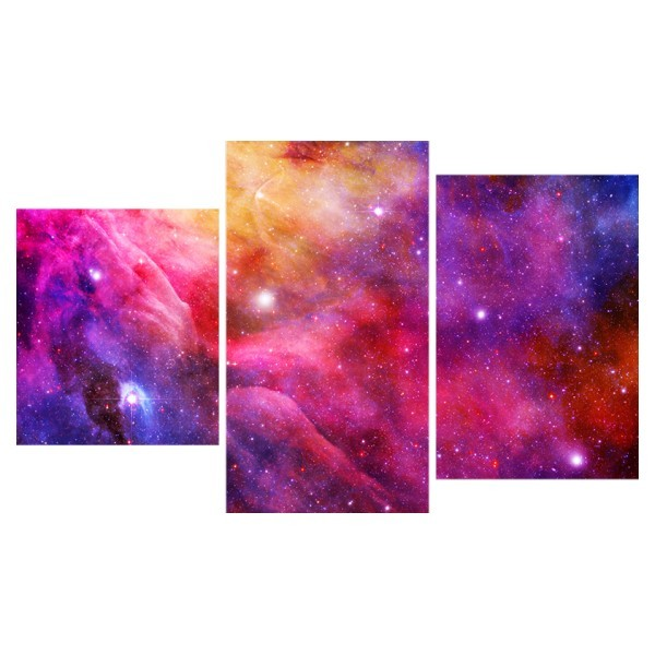 Картина модульная триптих 55*96 Космос диз.5 41-01 купить оптом и в розницу
