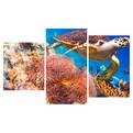 Картина модульная триптих 55*96 Море диз.3 44-01 купить оптом и в розницу