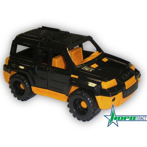 Автомобиль Мустанг джип черный 160/1 Норд /36/ купить оптом и в розницу