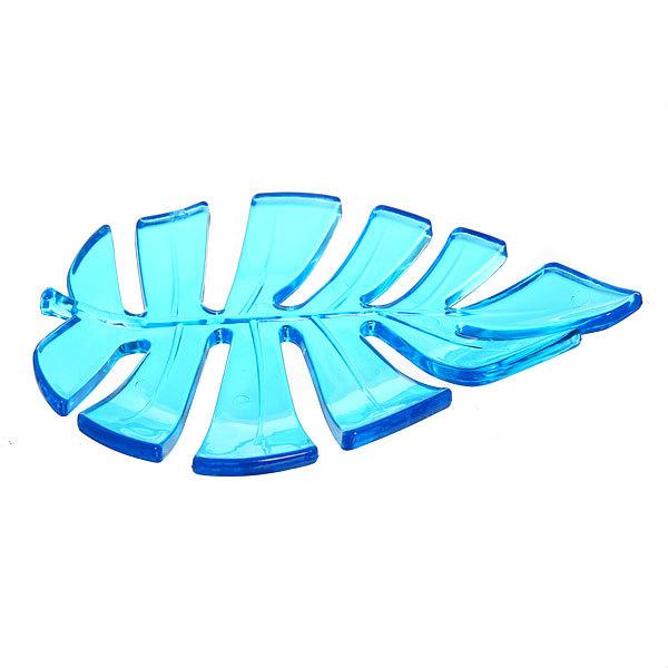 Мыльница ″Лист″ синяя купить оптом и в розницу