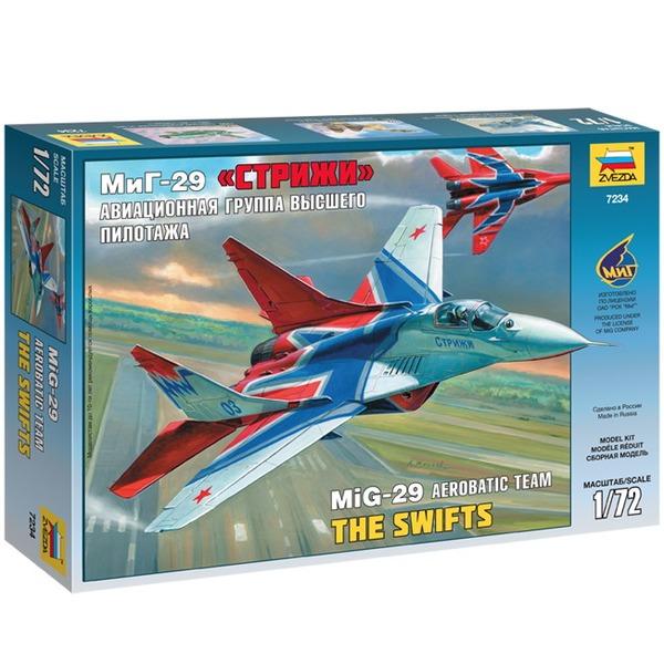 Сб.модель 7234ПН Самолет МиГ-29 Стрижи купить оптом и в розницу