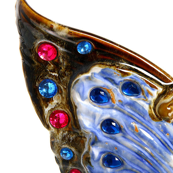 Статуэтка керамическая ″Бабочка Перламутр″ 27*34см купить оптом и в розницу