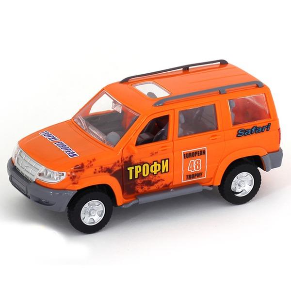 Машина инерц. 10604АПР Джип Трофи в пак. купить оптом и в розницу