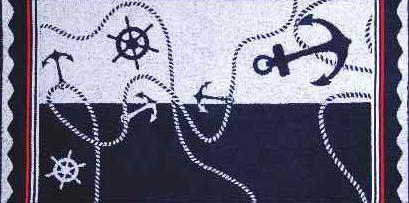 ПЦ-3502-1036 полотенце 70х130 махр п/т ANCORA цв.10000 купить оптом и в розницу