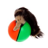 Игрушка ″Прыгающий мячик с хвостом″ 8см купить оптом и в розницу