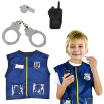 Набор Костюм Полицейский с аксесс. 0013-0952-2FL купить оптом и в розницу