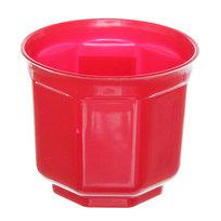 Кашпо для цветов ″Блеск″ h-10см d-11см красный Н1-11 купить оптом и в розницу