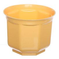 Кашпо для цветов ″Блеск″ h-12см d-15см желтый Н1-15 купить оптом и в розницу