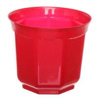 Кашпо для цветов ″Блеск″ h-18см d-20см красный Н1-20 5,7 купить оптом и в розницу